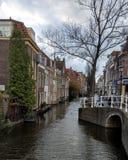 Canaux de Delft image libre de droits