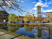 Canaux de Manchester Photo stock