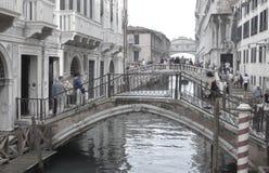 Canaux de Venise Image libre de droits