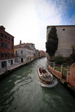 Canaux de Venise pendant le jour Image libre de droits