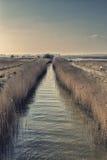 Canaux du Suffolk Image libre de droits