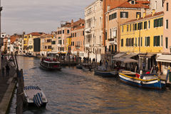 canaux Italie Venise Images stock