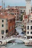 canaux, Venise, Italie Photographie stock