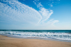 Canaveral obywatela Seashore fotografia royalty free