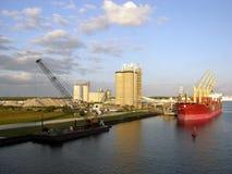 canaveral port royaltyfria foton