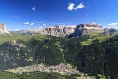 Free Canazei Aerial View Stock Photos - 33009663