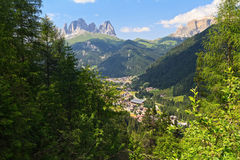 Canazei - Val di Fassa Royalty Free Stock Photo