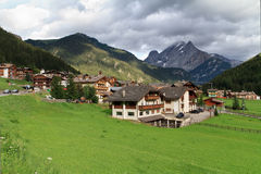 Canazei, Val di Fassa, Italia Fotografia Stock Libera da Diritti