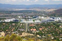 Canberra in Australië stock foto's