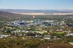 Canberra in Australië stock afbeeldingen
