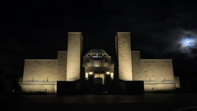 Canberra, Australian War Memorial - Time Lapse. Canberra is the capital city of Australia. The city is located at the northern end of the Australian Capital stock footage