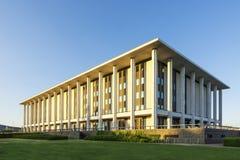 Canberra Australien det nationella arkivet Royaltyfria Bilder
