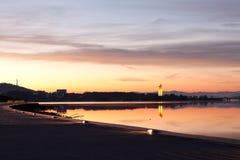 canberra carillion ranek obywatela wschód słońca Obrazy Stock