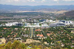 Canberra en Australia Fotos de archivo