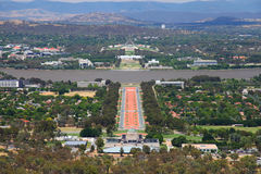 Canberra i Australien royaltyfri fotografi
