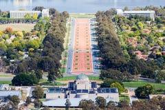 Canberra krigminnesmärke Royaltyfri Bild
