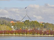 Canberra Landmark Royalty Free Stock Photography