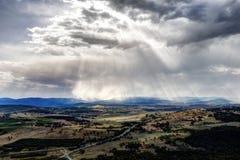 Canberra-Landschaft lizenzfreies stockbild