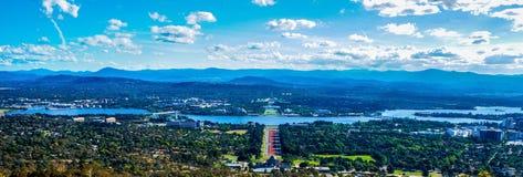 Canberra landskap Arkivbild