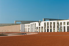 Canberra. Main entrance to the Parliament of Australia, Canberra stock photography