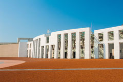 Canberra. Main entrance to the Parliament of Australia, Canberra Royalty Free Stock Image