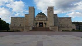 Canberra - monumento de guerra australiano metrajes