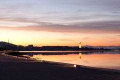 Canberra National Carillion Morning Sunrise Stock Images