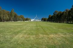 Canberra Parliament House Stock Photography