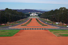 Canberra Parliament house royalty free stock image
