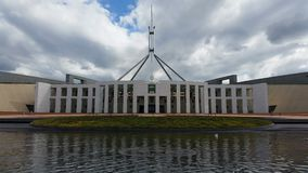 Canberra Parliament House stock footage