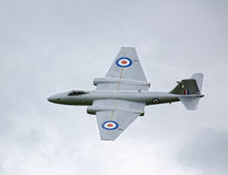 Canberra PR9 jet aircraft Stock Photo