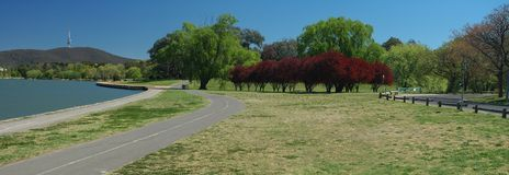Canberra scenery stock image