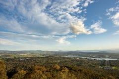 Canberra stad Royaltyfri Fotografi