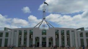 Canberra tidschackningsperiod lager videofilmer
