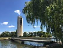 Canberras Klocka torn Arkivbild