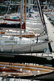 cancale cumowania jacht Fotografia Royalty Free