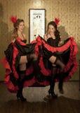 cancan Royalty-vrije Stock Fotografie