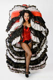 Cancan dancer Royalty Free Stock Photos