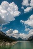 Cancano jeziora w Włochy Fotografia Stock