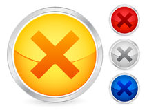 Cancel button Stock Image