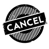 Cancel rubber stamp Royalty Free Stock Photography