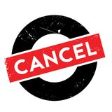 Cancel rubber stamp Royalty Free Stock Images