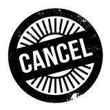 Cancel stamp rubber grunge Stock Image