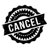 Cancel stamp rubber grunge Royalty Free Stock Images