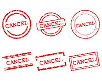 Cancel stamps. Detailed and accurate illustration of cancel stamps vector illustration