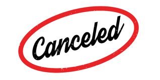 Canceled rubber stamp Royalty Free Stock Photography