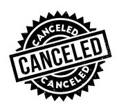 Canceled rubber stamp Stock Image