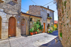 _ Cancellara Basilicata italy royaltyfri foto