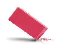 Cancellazione di rosa della gomma Fotografie Stock Libere da Diritti