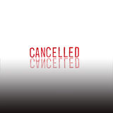 CANCELLED - red Rubber Stamp Stock Photos